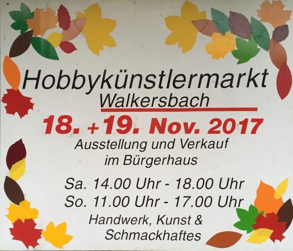Hobbykünstlermarkt 2017