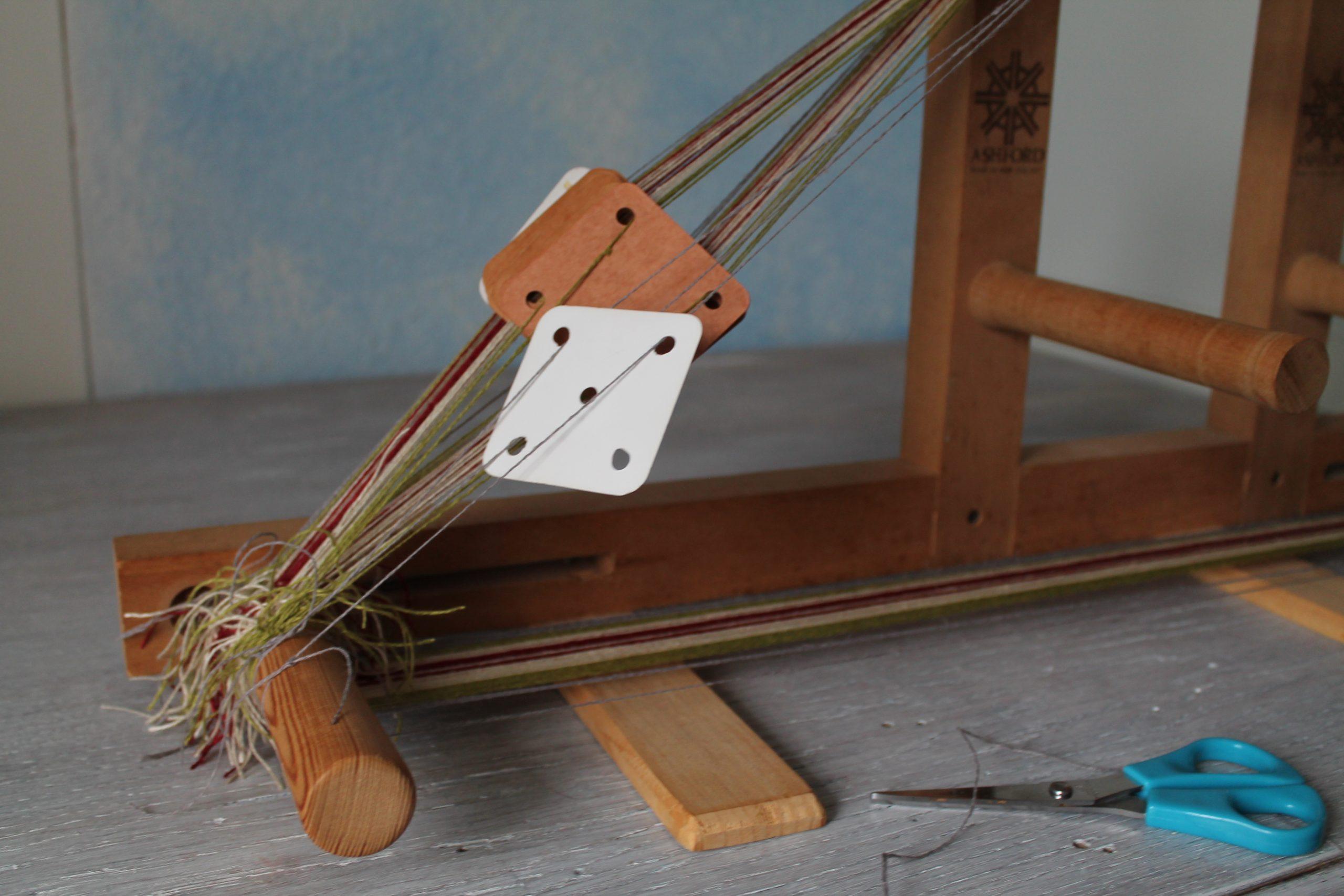 Brettchenweben - Rahmen und Brettchen